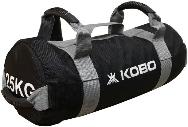 Kobo 25 Kg Sandbag Adjule Weight Training Filled Fitness Cross Functional Exercise Running Workout Sand
