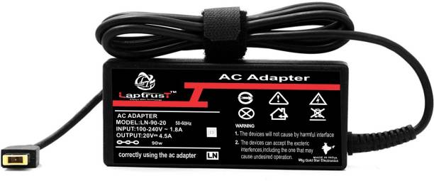 LaptrusT 20V 4.5A 90W AC Laptop Power Charger Adapter 90 W Adapter