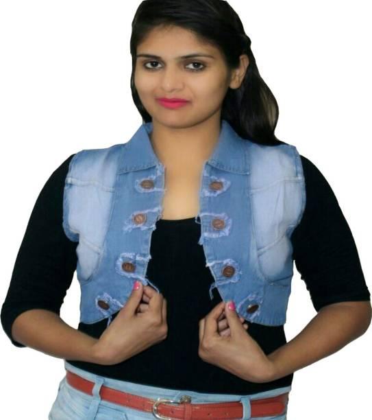 9b53b31555 Velvet Shrugs Jackets - Buy Velvet Shrugs Jackets Online at Best ...