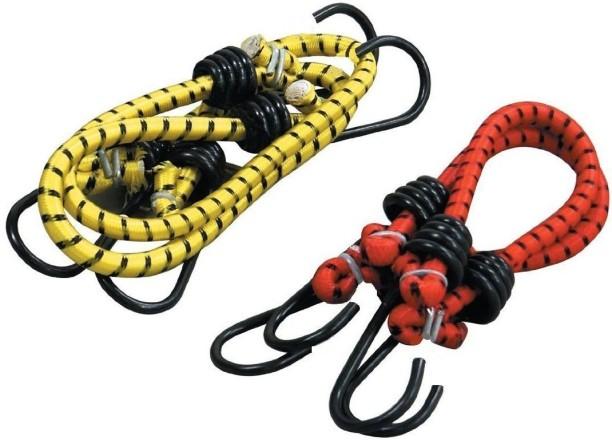 Yellow Hose /& Stainless Red Banjos Pro Braking PBF4126-YEL-RED Front Braided Brake Line