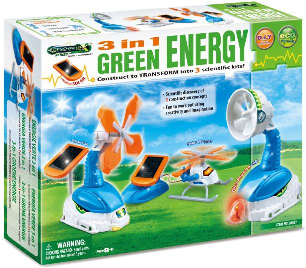 Amazing Toys 3 in 1 Green Energy