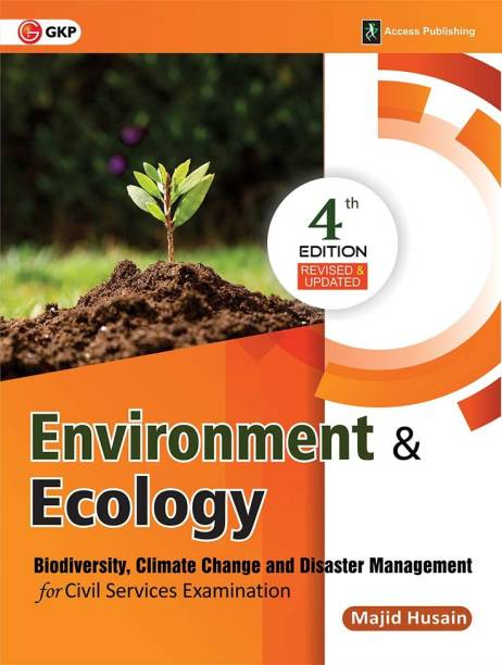 Environment & Ecology for Civil Services Examination - Biodiversity, Climate Change and Disaster Management Fourth Edition