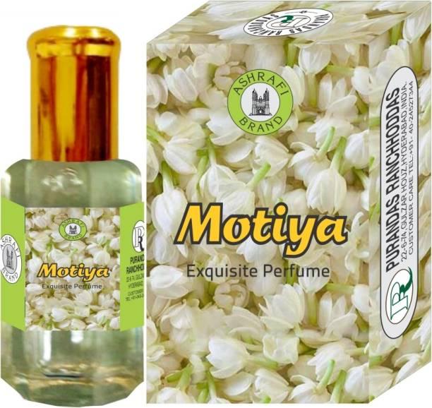 Purandas Ranchhoddas PRS Motiya Attar Eau de Parfum  -  10 ml