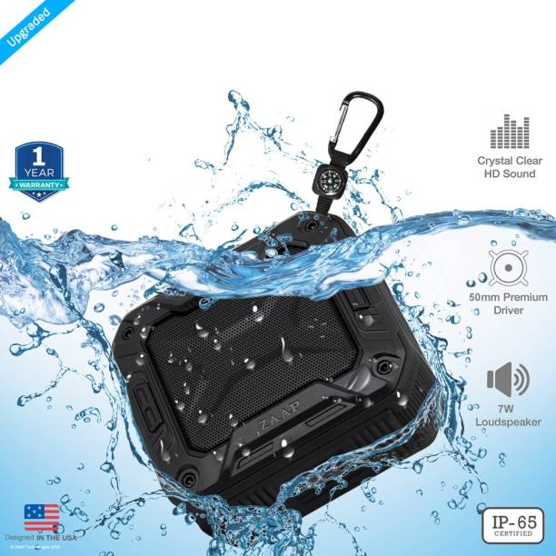 Zaap AQUA BOOM Waterproof 7 W Portable Bluetooth Speaker