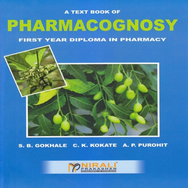 Pharmacognosy Book By Kokate