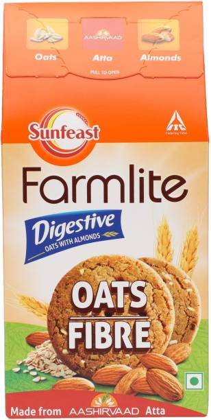 Sunfeast Farmlite Digestive Oats with Almonds