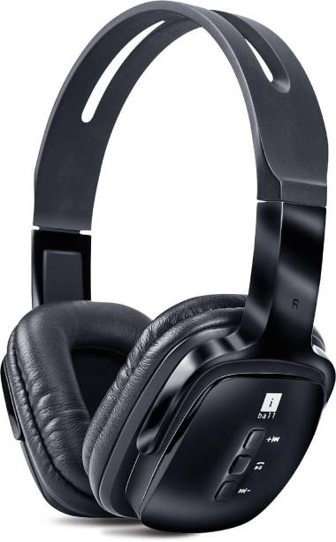 iBall Pulse-BT4 Wireless Headset with Mic Bluetooth Headset