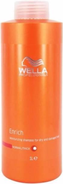 Wella Professionals Professionals Enrich Moisturizing Shampoo Normal/ Thick 1000ml