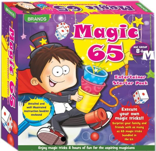 0ce335f14ed HALO NATION 65 magic Tricks Play Set Magic mantra Brands 65 Magic Tricks
