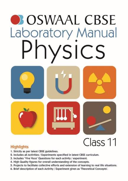 Oswaal CBSE Laboratory Manual Class 11 Physics Book (For 2022 Exam)