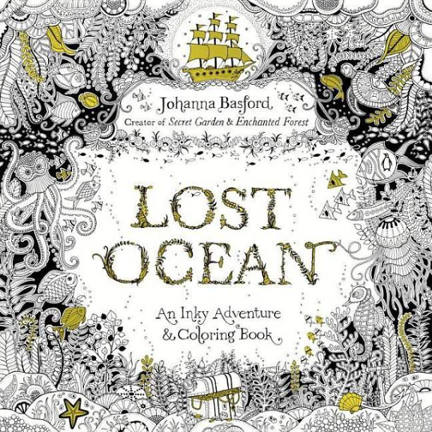 Lost Ocean An Underwater Adventure And Coloring Book