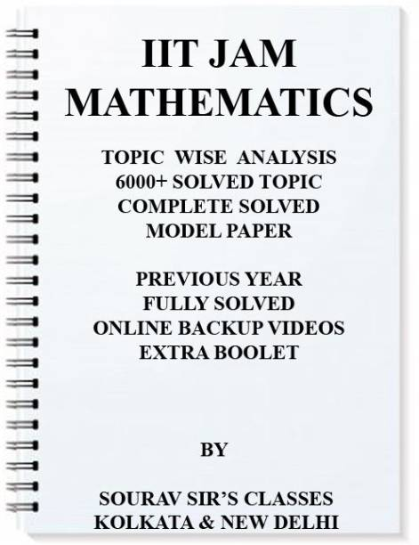 A New Approach To IIT JAM MATHEMATICS 2018 -2019 + With Year Wise Solutions + Solved Model Questions +Online Lecture Links