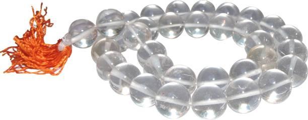 1929b628a Satyamani Energised Clear Quartz 12 mm Beads (Pack Of 5 Pcs.) Decorative  Showpiece