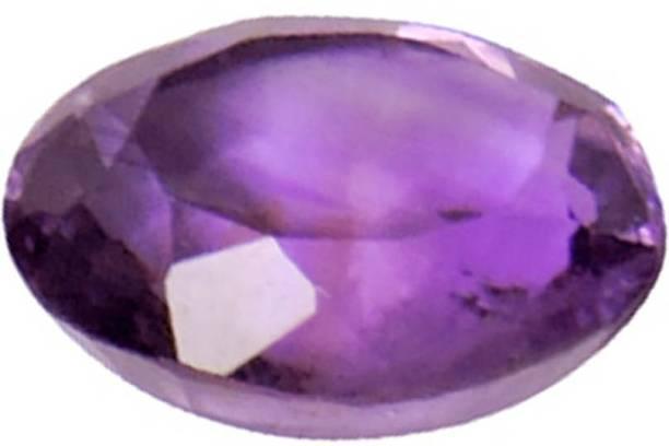 83de70641 Satyamani Amethyst Oval Shape Loose Gemstone (Pack of 1 Pc.) Decorative  Showpiece -