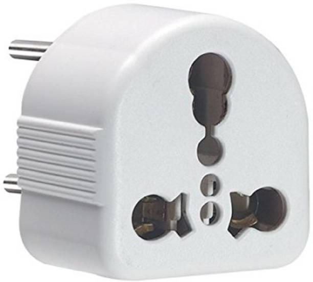 Trendmakerz 5/6 Amp to 15 Amp Heavy duty Conversion Plug for TV,Fridge,Microwave,WashingMachine,AC,Cooler Three Pin Plug