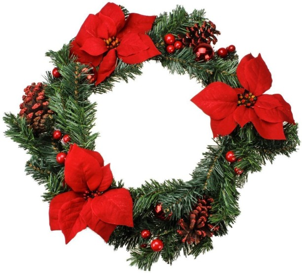Christmas Wreath - Buy Christmas Wreath Online at Best Prices In ...