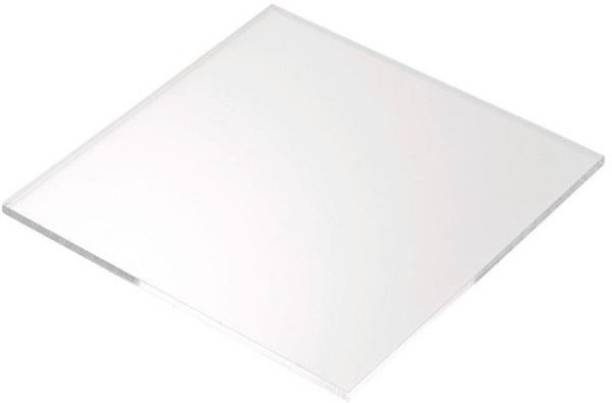 Delite pack of 4 Cast 6 x 6 inch Transparent 15 cm Acrylic Sheet