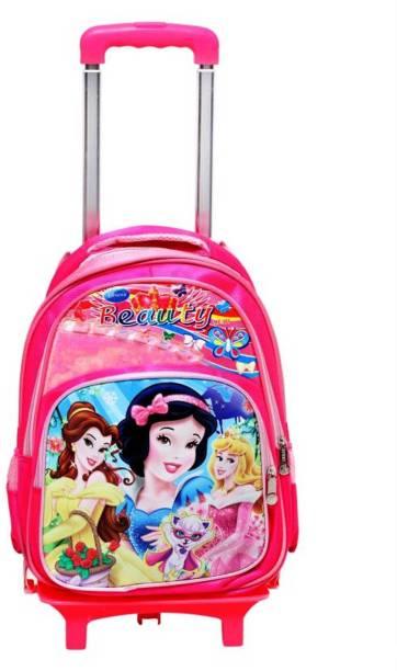 4176136f8530 GOCART barbie Printed Children Trolley Bag polyester Waterproof  Multipurpose Bag