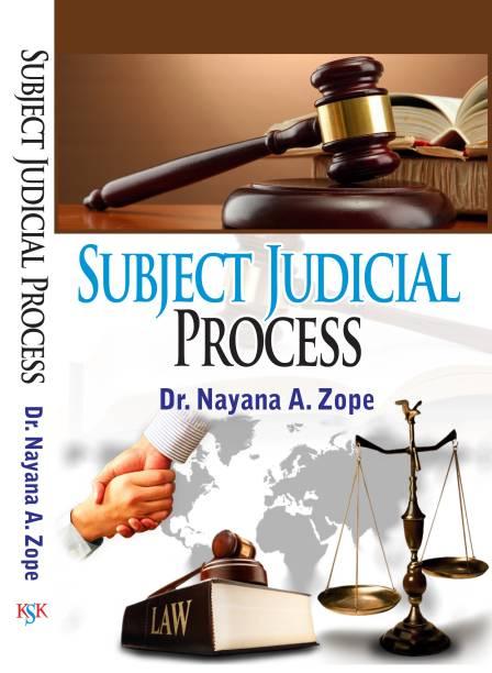 Subject Judicial Process