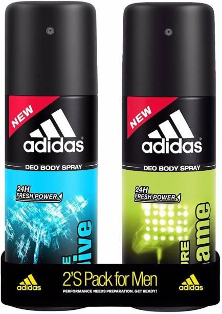 ADIDAS Pure Game & Ice Dive Deodorant Spray  -  For Men