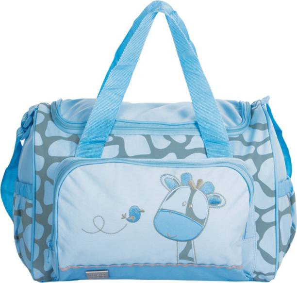 Meemee Multipurpose Diaper Bag With Bottle Warmer Changing Mat Blue Nursery