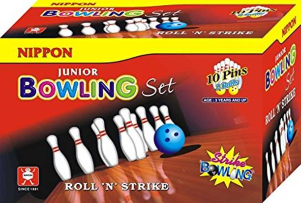 NIPPON Bowling Set Junior 10 Pins Bowling
