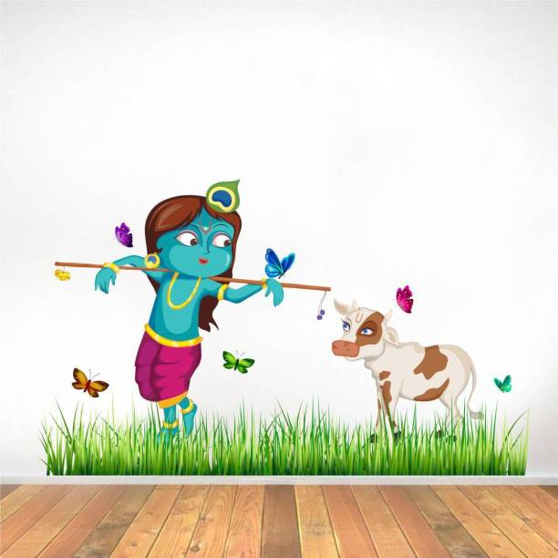Rawpockets Lord Krishna Cow Grass Butterfly Story