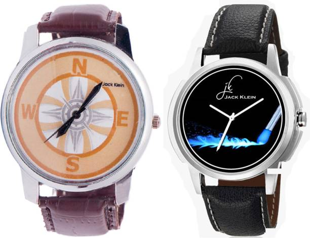 78801ad028 Jack Klein 2 Stylish & Elegant Different Colored Strap Analog Watch - For  Men