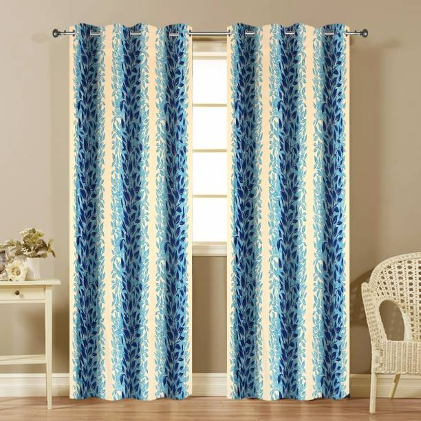 Home Décor Collection 274 Cm 9 Ft Polyester Long Door Curtain Pack Of