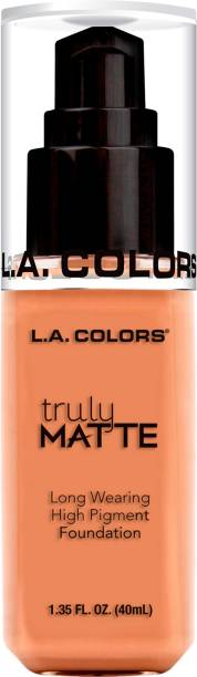 L.A. COLORS Truly Matte Liquid  Foundation
