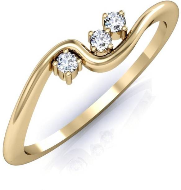 06582dcf27a11a Gold Ring Below 6000 - Buy Gold Ring Below 6000 online at Best ...
