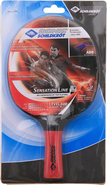 DONIC Sensation 600 Multicolor Table Tennis Racquet