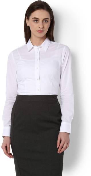 Womens Shirts Formal Shirts For Women Flipkart