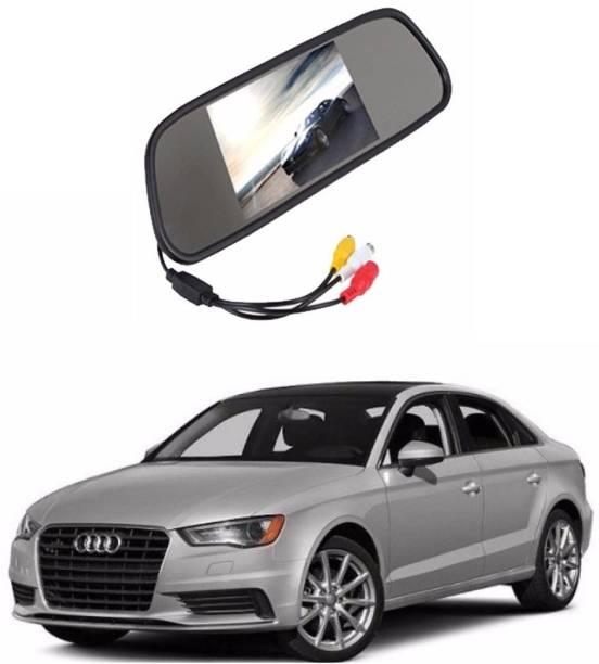 Auto Garh Rear View Mirror Camera Monitor WITH 1YR WARRANTY For A3 Multicolor LED