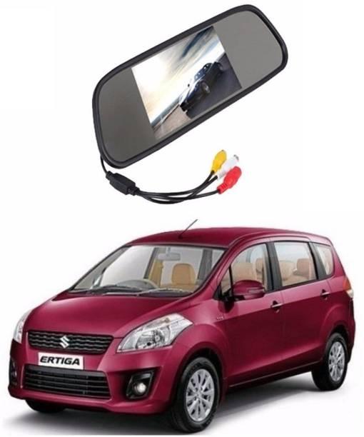 Auto Garh Rear View Mirror Camera Monitor WITH 1YR WARRANTY For Ertiga Multicolor LED