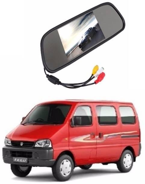 Auto Garh Rear View Mirror Camera Monitor WITH 1YR WARRANTY For Eeco Multicolor LED