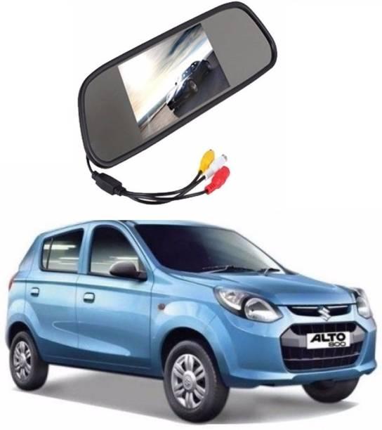 Auto Garh Rear View Mirror Camera Monitor WITH 1YR WARRANTY For Alto Multicolor LED