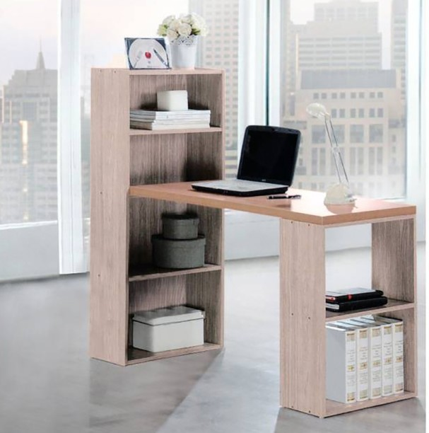 Woodness Chicago Engineered Wood Office Table