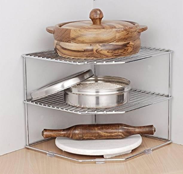 JVS Disha-Steel Plate Rack (DISHA 157) Metal Kitchen Cabinet