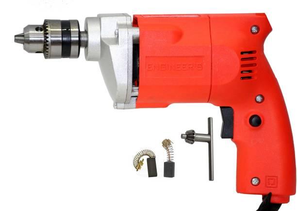 Digital Craft EG-10 10mm EG-10 300 Watt High Power Drill Drilling Machine for Metal, Wood, Plastic, Tiles, Marble, Granite & Others Pistol Grip Drill