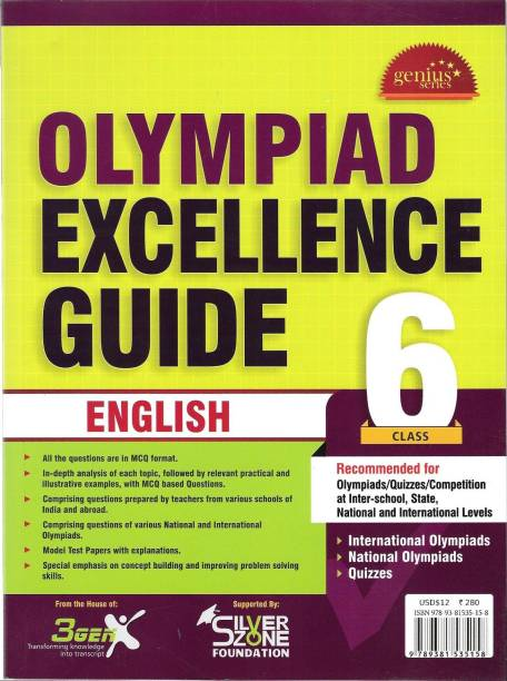 Olympiad Excellence Guide - English (Class - 6) 1st  Edition
