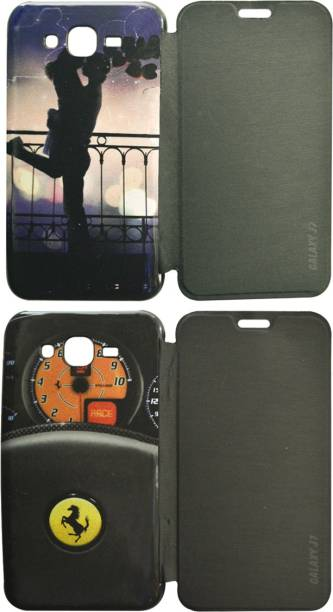 Coverage Flip Cover for Samsung Galaxy J7 Nxt (2017)