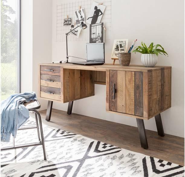 THE ATTIC Sheesham Wood Solid Wood Study Table