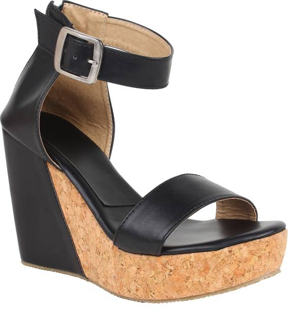 7c6e67623a69 Glitzy Galz Wedges - Buy Glitzy Galz Wedges Online at Best Prices In ...