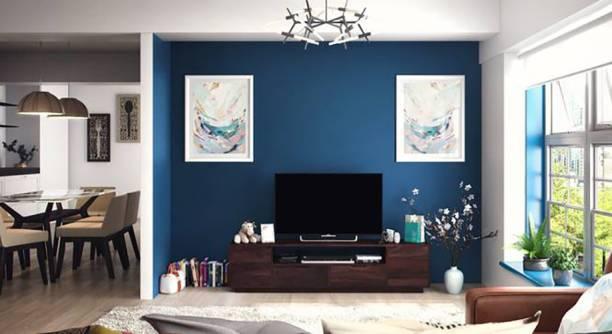 THE ATTIC Zephyr Mango Solid Wood TV Entertainment Unit