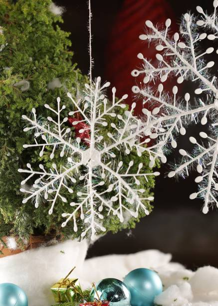 skyasia 3310_s hanging snow flake - Cheap Christmas Decorations Online