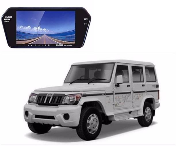 Auto Garh 7 Inch Bluetooth Screen Monitor For Bolero Black LED