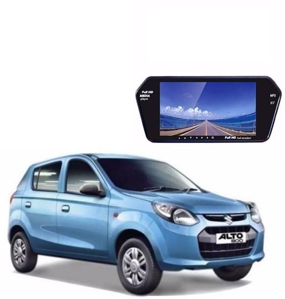 Auto Garh 7 Inch Bluetooth Screen Monitor For Alto Black LED