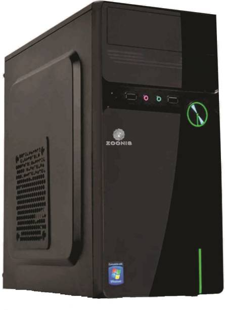ZOONIS Intel® Core™2 Duo (4 GB RAM/ONBOARD Graphics/1 TB Hard Disk/No OS/256MB GB Graphics Memory) Mid Tower