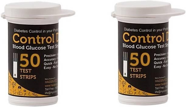 Control D HDCDSTP100 100 Glucometer Strips